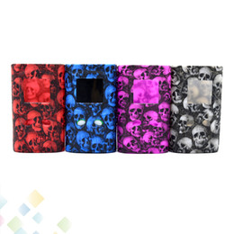 Skull S online shopping - S PRIV W Silicone Case Skull Head Fashion Rubber Sleeve Protective Cover Skull Skin For S Priv Mod DHL Free