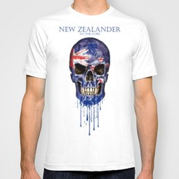 f8f03e5247888b 2018 New New Zealand Skull flag Fashion Men s T-shirts Short Sleeve Tshirt  Cotton t shirts Man Clothing Free Shipping