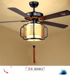 $enCountryForm.capitalKeyWord NZ - 2017 fan chandelier pendant chinese NEW LED fan chandelier lamp living room bedroom fans with remote control