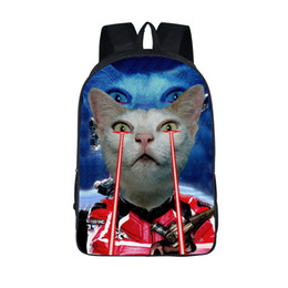 Chinese  Funny Space Cat Unicorn Backpack Laser Cat Kitty Backpacks Children School Bags For Girls School Backpacks For Teenagers Bag manufacturers