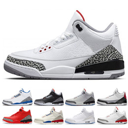 Wholesale 2018 mens basketball shoes International Flight Pure white Black Cement Korea Tinker JTH NRG Katrina Free Throw Line Fire Red blue sneakers