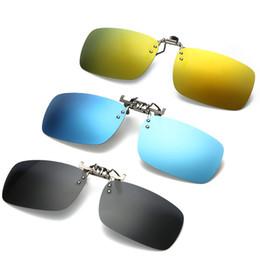 246b8b3f68d Classic Design Sunglasses Polarized Clip Men Square Driving Sun Glasses Clip  Gafas Shades Eyewear Women Oculos de sol UV400