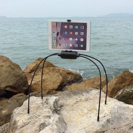Wholesale Flexible Leg Hand Free Floor Stand Adjustable Bracket Bed Mount Holder for iPad Galaxy Tablet