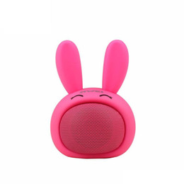 phone call computer UK - Cute Cartoon Mini Wireless Bluetooth Speaker Portable Handsfree Call Speaker With TF Card Slot USB AUX Modes High Quality Stereo Subwoofer