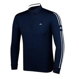 Новая мужская спортивная одежда Футболка с длинным рукавом JL Golf 4 цвета JL Гольф-одежда S-XXL по выбору Leisure Golf shirt Бесплатная доставка