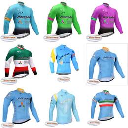 069d6f157 Acquista Maglia Astana Cycling Winter Thermal Fleece Jersey Top Winter  Thermal Fleece Abbigliamento Top Shirt Ciclismo Sportswear Di Alta Qualità  840801 A ...