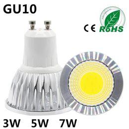 $enCountryForm.capitalKeyWord Australia - COB Lampada Led Spotlight GU10 220V 110V Bombillas Led Lamp Focoe Refletor Ampoule Led Bulb Spot Light 3W 5W 7W Lampara