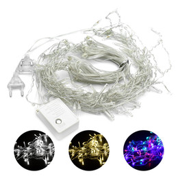 $enCountryForm.capitalKeyWord Australia - 3* 3M 300LED 6*3M 600LED Outdoor Home Christmas Decorative xmas String Fairy Curtain Strip Garlands Party Lights For Wedding Decorations
