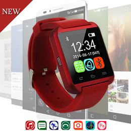 new u8 smart watch 2019 - 2018 New Luxury Sport Casual Smart Watch Electronic Intelligent Clock U8 Pedometer For Women Men Unisex Smart Watch Saat
