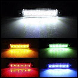 Wholesale Trailer Lights Australia - Car External Lights LED 12-24V 6 SMD LED Auto Car Bus Truck Lorry Side Marker Indicator low Trailer Light Rear Side Lamp