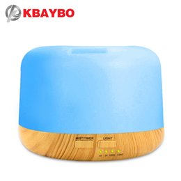 $enCountryForm.capitalKeyWord UK - 300ml Air Humidifier Aroma Lamp Aromatherapy Electric Aroma Diffuser 7 Color LED Light Wood grain Essential Oil Diffuser