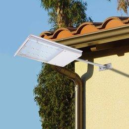 solar door light 2019 - Waterproof Outdoor Solar 15 LED light Sensor Control Night Security Wall lamp For Garden Door Yard Fence Pathway Street