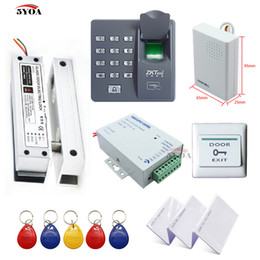 Cheapest Wooden Glass Metal Gate Opener Door Entry System Access Control Kit Home Office Bank Diy Electric Lock Rfid Card Security & Protection
