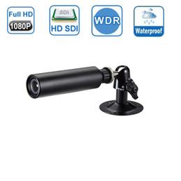 Bullet proof cctv online shopping - Small Size x93mm Mega Pixel HD SDI CCTV Camera Panasonic CMOS Megapixel P Waterproof Mini Bullet Sdi Camera