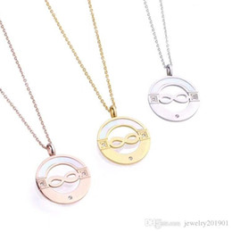Necklaces Pendants Australia - High Quality Wholesale Famous Brand Bulgaria Necklace for Men Women 316L Stainless Steel Inifinty Charm Pendant Necklace Jewelry