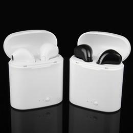 036b18d38ce Ear Pods Canada - New Double Ear mini bluetooth Headsets pods Earbuds  wireless Headphones Earphone Earpiece