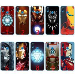 pink hero brand 2019 - Marvel Avengers Heroes Soft Silicone TPU Phone Case for Huawei Honor 7A Pro 6A 7X 8 Lite 9 Lite 10 Cover cheap pink hero