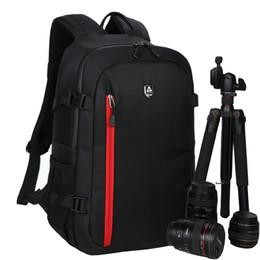 Dslr Slr Camera Australia - photo Large Capacity Waterproof Photography  video DSLR Backpack Camera Photo Bag For Nikon Canon Slr Camera Lens