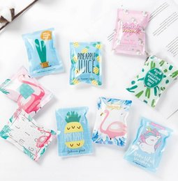 Cute Cooler bags online shopping - Cute Cortoon Ice Bag Summer Recycle Outdoor Portable Cooler Unicorn Flamingo Pineapple Printed DDA742 Camp Kitchen