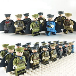 Wooden toys patterns online shopping - Assembled Blocks Cartoon Officer Collection Children Fun Intelligence Multiful Pattern Mini Separable Building Block Toy Gift ad W