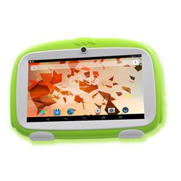 7 Wifi Tablet Australia - 7 Inch Android 4.4 Tablet Pc WiFi kids tablet 8G storage infantil Children's learning gifts 2018 BDF New