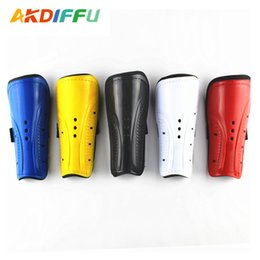 Adults Leggings Wholesale Australia - Three-hole Leggings Football Leggings for Children Adult Reinforced Color Double-band Straps
