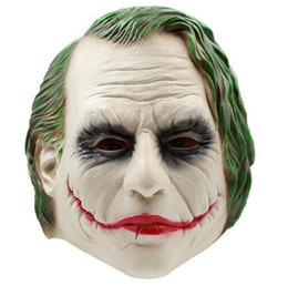 China Halloween Clown Scary Mask Props Funny Mask Realistic Masquerade Halloween Cosplay supplier scary masquerade costumes suppliers