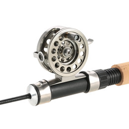 Rock Bait Australia - Y4236-50 Fly Fishing Reel Right Handed Aluminum Alloy Smooth Rock Ice Fishing Reels Fly Reels Fishing