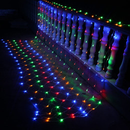 $enCountryForm.capitalKeyWord Australia - 10piece lot 3Mx2M LED net light Indoor Christmas decoration 200 leds EU US plug fairy lighting With controller 8 fundtions Party,Bar