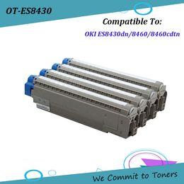 Toner for oki online shopping - OKI ES8430 Compatible Toner Cartridge for OKI ES8430dn ES8460 cdtn BK C M Y pages
