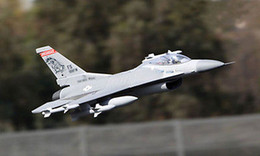 jet motors NZ - SCALE Skyflight 70MM EDF 1.3M F16 Fighting Falcon RC KIT Jet Plane Model W O Motor Servos ESC Battery