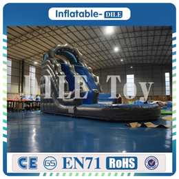 Pool inflatable water slides online shopping - Door To Door Inflatable Water Slide Inflatable Pool Slide Inflatable Weter Slide For Sale