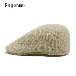 beret breathable 2019 - Kagenmo Summer Golf Berets Solid Mesh Sun Hat Short Visor Outdoor Breathable Sunscreen Summer Beret cheap beret breathab