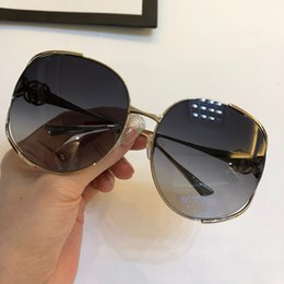 Full Face shield online shopping - Luxury Sunglasses For Women Brand Design Popular Fashion S Summer Big Face Style Top Quality UV Protection Lens Come With Case
