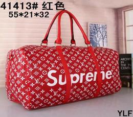 $enCountryForm.capitalKeyWord Canada - Luxury men women travel bag Leather duffle bag brand designer luggage handbags large capacity shoulder sports bag Travel Bags