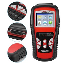 Car diagnostiC sCanner Cdp online shopping - KONNWEI KW830 OBD2 EOBD Car OBD Diagnostic Tool Auto Scanner Automotive OBDII Fault Code Reader Better Than AD510 and MS509