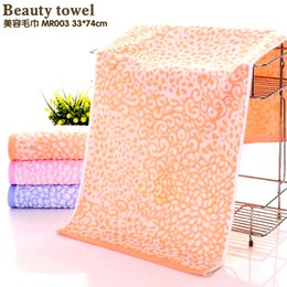 Beauty Towels NZ - Bamboo fiber towel beauty Soft comfortable water absorbent cloth Green bamboo fiber fabric is durable Oil absorben child towels