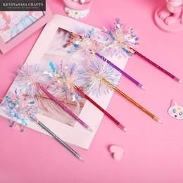 Kawaii glitter online shopping - Glitter Ballpoint Pen Quality Stationery Kawaii School Supplies Cute School Stationery Office Suppliers Pen Kids Gift Tool
