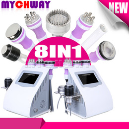 Discount cavitation screen - Touch Screen 8in 1 Ultrasonic Cavitation RF 40K Ultrasound Cavitation Bipolar Tripolar Sixpolar RF Body Slimming Machine