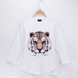 95597c92009a 2018 Kids Clothes Children T-shirt Tiger 3D Print 100% Cotton O-Neck Full Long  Sleeve Boys T Shirts Baby Clothing Girls Tops Child Shirt