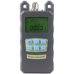 fc fiber connectors UK - New Fiber Optic Optical Power Meter Cable Tester Networks With FC SC connectors -70~+10dBm