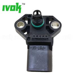 Bar Map Sensor Australia - 2.5 Bar MAP Sensor For VW Bora Caddy III Golf Beetle Multivan Sharan Touran 1.4 TSI 1.8 1.9 TDI 0 281 002 399 038 906 051 B 038906051B
