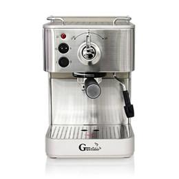 Household Gustino Semi-Automática Máquina De Café Expresso Aço Inoxidável Grande Cafeteira Para Uso Doméstico Negócios TB