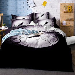 $enCountryForm.capitalKeyWord NZ - 3D Skull Bedding Set Halloween Bedding Set marylin monroe & Skull Duvet Cover pillowcase Twin Full Queen King Bed linens