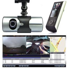 """Gps Rearview Camera NZ - 2018 High Quality 2.7"""" Vehicle 1080P Car DVR Camera Video Recorder Dash Cam G-Sensor GPS Dual Lens"""