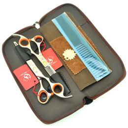 $enCountryForm.capitalKeyWord Australia - Meisha 7.0 Inch Barbers Hairdressing Scissors Set Salon Shop Beauty Hair Cutting Thinning Shears Professional Hairdressers Tesouras HA0398