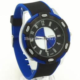 $enCountryForm.capitalKeyWord UK - Free shipping!Promtional Price!Silicone belt,silver plating case,quartz movement,sport style design man's quartz watches