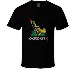 Nenhuma gota Ur Sig genérico engraçado Sauer Gun Collector T Shirt venda por atacado