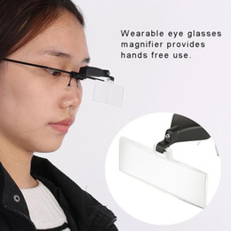 Wholesale Watch Repair Single Lens Eye Glasses x x xMagnifying Magnifier LED Light Loupe