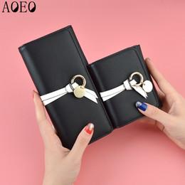 $enCountryForm.capitalKeyWord NZ - AOEO women wallets long short wallets three folder card holder clutch PU leather cute zip Small Mini Coin Purse Wallet Female
